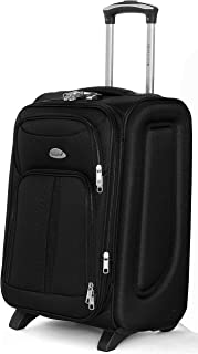Senator Soft-Shell Luggage Expandable 28 Inch Large Size Lightweight Suitcase, Check in Luggage, Carry on With Wheels 2, K...