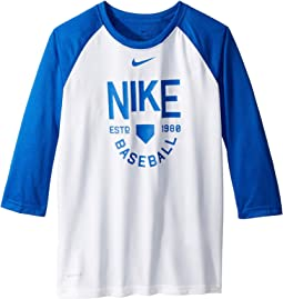 Dry Legend 3/4 Sleeve Training Tee (Little Kids/Big Kids)