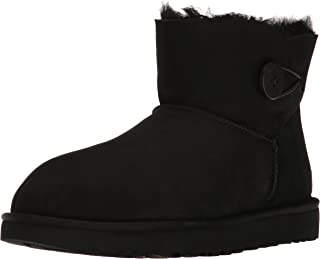 black uggs buttons side