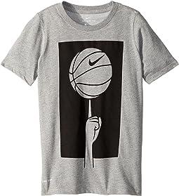 Nike Kids - Dry Spinning Ball Basketball T-Shirt (Little Kids/Big Kids)