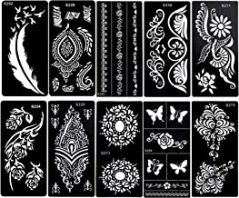Suchergebnis Auf Amazon De Fur Henna Tattoo Schablonen