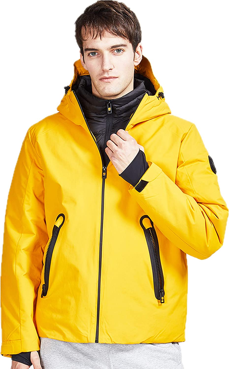 TIGER FORCE Men Winter Jackets Jacket Quilted Rain Weekly update W Max 81% OFF Coat