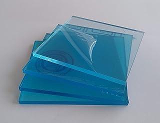 4 X Metacrilato transparente 3 mm. 10 x 10 cm. - Diferentes tamaños (100x100, 100x70, 50x50, 30x30) - Plancha de Metacrilato traslucido a medida - Placa acrílico transparente