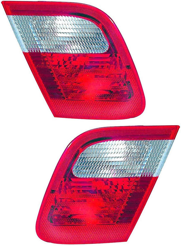For Bmw 3 Series Sedan 人気ブレゼント! 日本メーカー新品 Inner Back Tail Light Reverse 1999 Up 200