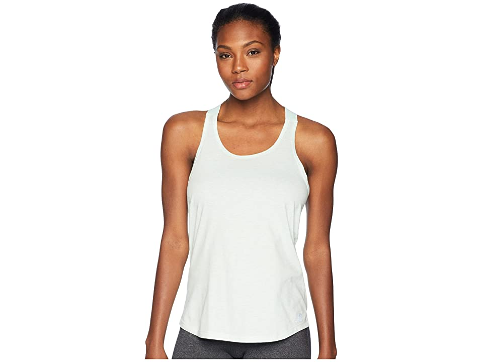 New Balance Heather Tech Tank Top (Seafoam Heather/Seafoam) Women