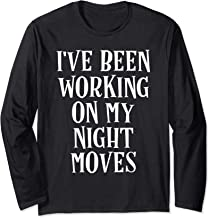 I've Been Working On My Night Moves Classic Rock Shirt