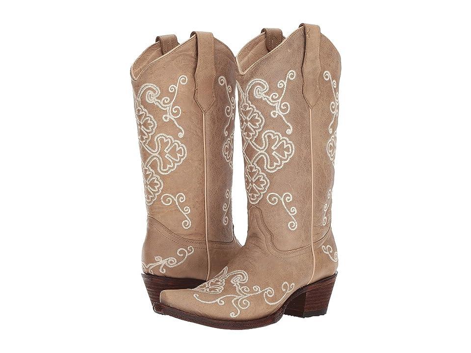 Corral Boots L5273 (Bone) Cowboy Boots