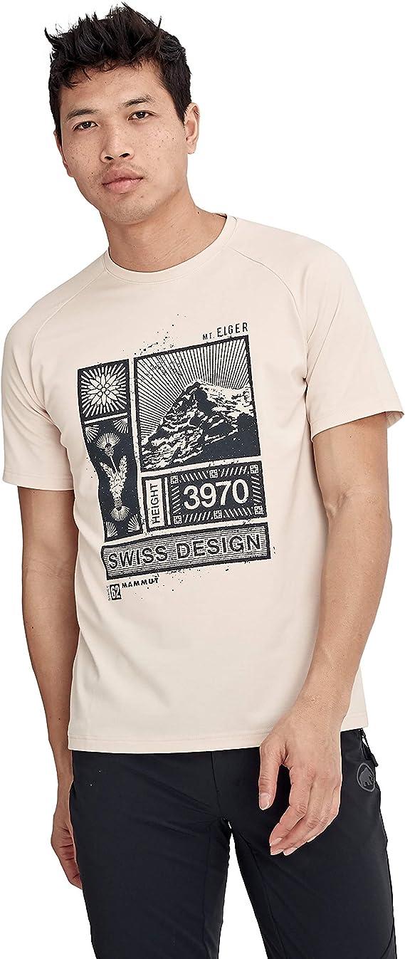 Mammut Mountain Camiseta Hombre