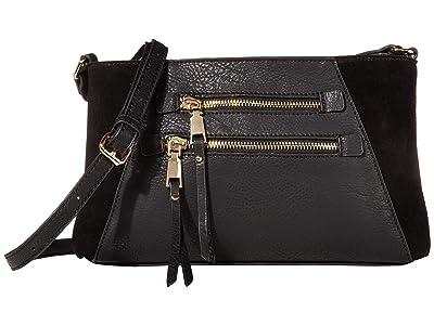 SOLE / SOCIETY Chele Crossbody (Black) Handbags