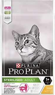 Proplan Sterilised Cat Food-Chicken, Brown, 10 kg, 12391139