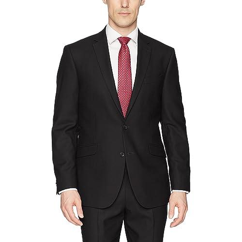 5747966685b4 Kenneth Cole REACTION Men s Techni-Cole Stretch Slim Fit Suit Separate ( Blazer, Pant
