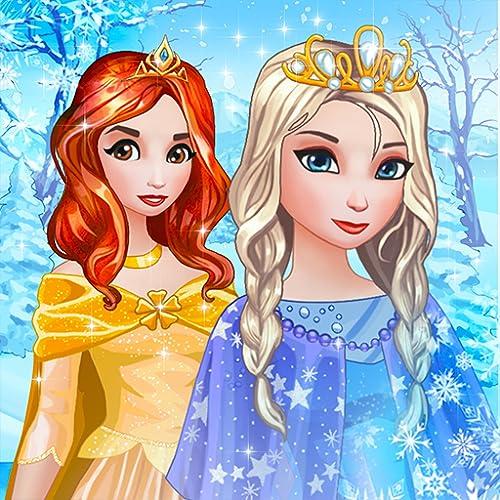 Eisprinzessinnen Ankleide und Schmink Spiele für Mädchen