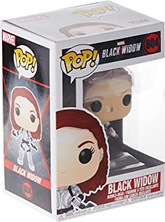Funko Pop! Marvel: Black Widow – Black Widow (White Suit), Action Figure - 46681