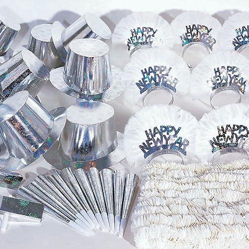 Las ventas en línea ahorran un 70%. Hoffmaster K1000260piezas de año nuevo plata holográfica holográfica holográfica para fiesta para una fiesta de 20unidades, tamaño grande, varios Colors (caja de 60)  Disfruta de un 50% de descuento.