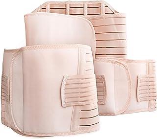 ComfySlim 3 in 1 Postpartum Support Recovery Belly Wrap Waist/Pelvis Belt For Women