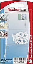 fischer Fast & Fix wit - wandhaken voor het bevestigen van schilderijen, kleine onderdelen in gipskarton, zacht hout, gips...