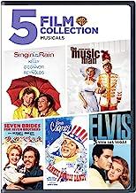 Singin' in the Rain / The Music Man / Seven Brides For Seven Brothers / Yankee Doodle Dandy / Elvis-Viva Las Vegas (5 Film...