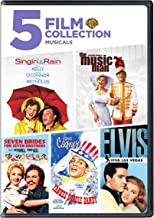 Singin' in the Rain / The Music Man / Seven Brides For Seven Brothers / Yankee Doodle Dandy / Elvis-Viva Las Vegas 5 Film Collection Musicals