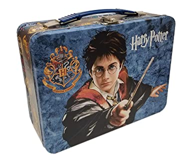 The Tin Box Company 684707-DS Harry Potter XL Classic Lunchbox, Blue
