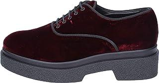 [JEANNOT] 古典的な女性の靴 レディース ベルベット パープル