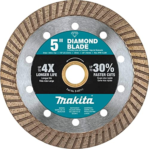 """lowest Makita B-69711 5"""" outlet online sale new arrival Diamond Blade, Turbo, General Purpose sale"""