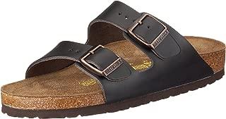 Birkenstock Unisex Arizona Black Sandals - 8-8.5 2A