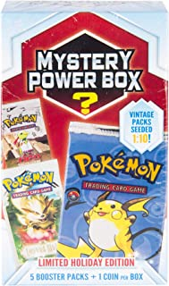 Pokemon Cards Mystery Power Box 5-5 Booster Pack + Look for Vinatage Pack + Seeded 1: 10 + Factory Sealed Pack