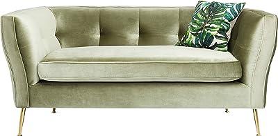 Kare Design - Divano Rimini Verde 2 Posti, 160 cm