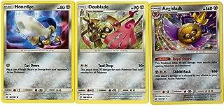 Sun Moon Team Up - Evolution Set - Aegislash 109/181 - Doublade 108/181 - Honedge 107/181 - Rare Card Lot