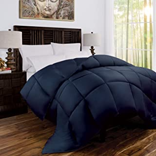 Mandarin Home Luxury 100% Rayon Derived From Bamboo Comforter with Goose Down Alternative Fill - All Season Hotel Quality ...