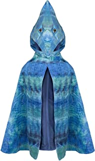 Great Pretenders 56785, Pterodactyl Hooded Cape, Blue, US Size 4-5