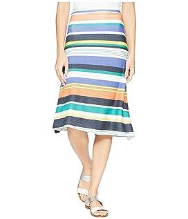 Multicolor Stripe Skirt