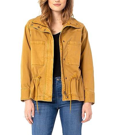 Liverpool Zip Front Anorak Jacket (Honey) Women