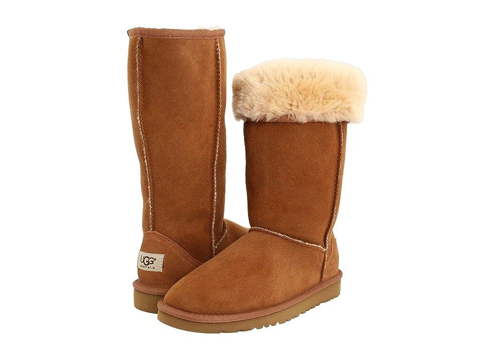 UGG Kids Classic Tall (Little Kid/Big Kid) (Chestnut) Girls Shoes