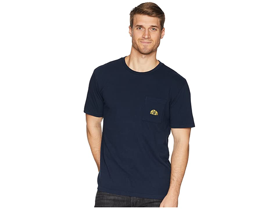 The North Face Well-Loved Pocket Tee (Urban Navy) Men