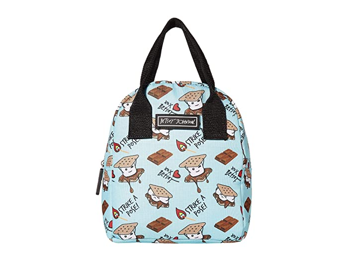 Betsey Johnson Insulated Lunch Tote w/ Print