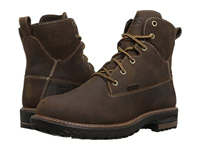 Timberland PRO Hightower 6 Alloy Safety Toe Waterproof (Kaffe Full Grain Leather) Women