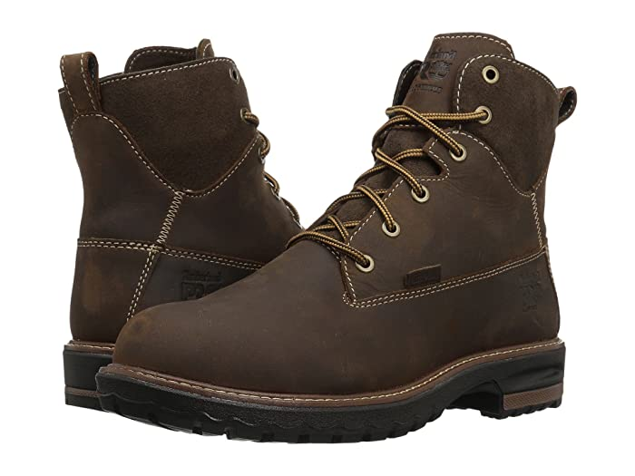 Timberland PRO  Hightower 6 Alloy Safety Toe Waterproof (Kaffe Full Grain Leather) Womens Work Lace-up Boots