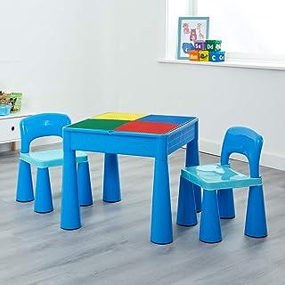 comprar comparacion Liberty House LH899B Juego de mesa y 2 sillas infantiles, color Azul