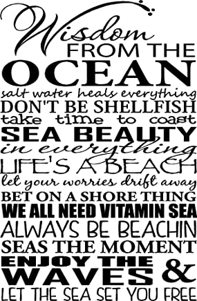 Beach Quotes Wall Art