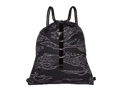 Nike Hoops Elite Gymsack 2.0 All Over Print (Black/Anthracite/Black) Backpack Bags