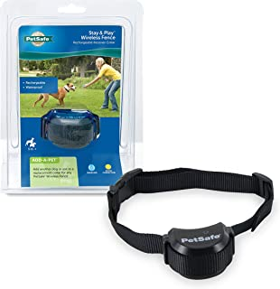 Best PetSafe Stay & Play Compact Wireless Fence for Dogs & Cats, Waterproof & Rechargeable, Above Ground Electric Fence Covers up to 3/4 Acre for Pets 5 lb+ from the Parent Company of Invisible Fence Brand Review