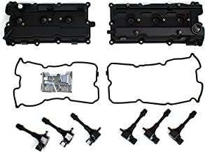CNVG-D1273 Brand New Valve Cover, Valve Cover Gasket, Ignition Coil Set (RH & LH)