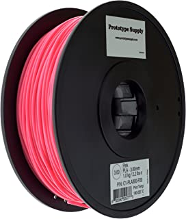 1.75 mm Filament - 3D Printer Filament 1.75 pla for All Types of FDM3D Printers 1Kg 2.2lb 3D Printer Filament 1 Spool by Getseason Pink