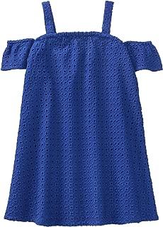 Gymboree Girls' Toddler Cold Shoulder Eyelet Dress