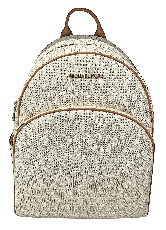 Michael Kors Leather Backpack Vanilla