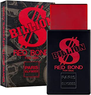 BILLION DOLLAR RED BOND Perfume para hombre Paris Elysees vaporizador 100 ml