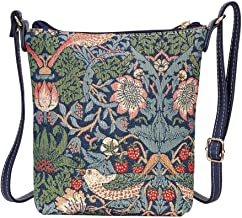 Signare Tapestry Cross-body Satchel Bag/Lightweight Purse