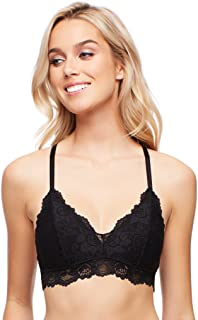 Jenny Jen Sexy Lace Katie Triangle Bralette for Women, Size S-XL