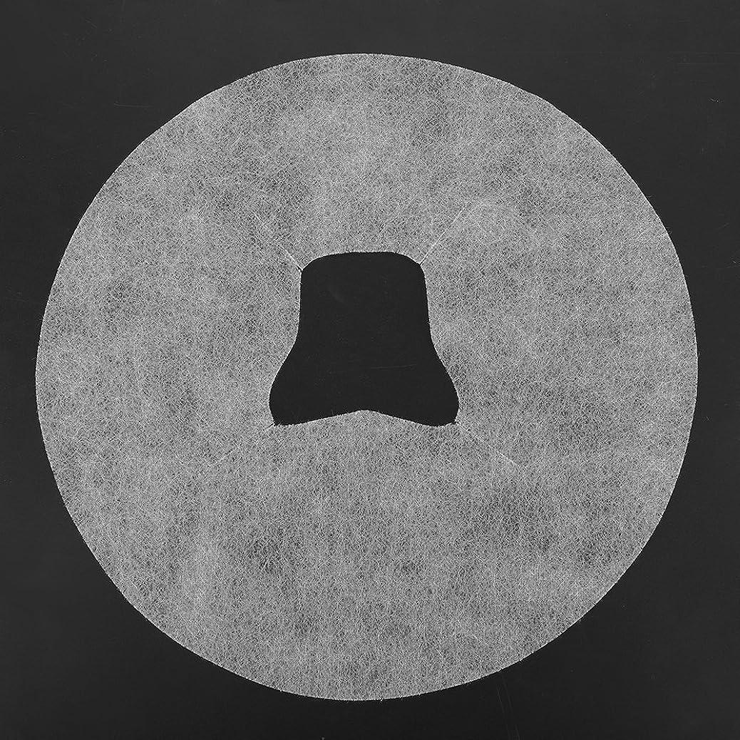 キラウエア山アラビア語ペグSoarUp 【100枚入】 フェイスマッサージパッド 使い捨てタオル 顔用 使い捨て 不織布材料 通気性 美容院?スパ?美容マッサージ専用 衛生的 安全 ホワイト